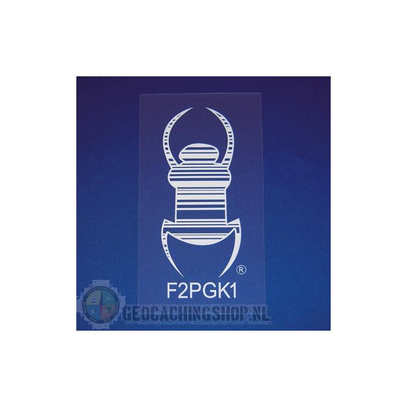 Travel Bug® Aufkleber - selbstklebende Statikfolie 25,5 cn