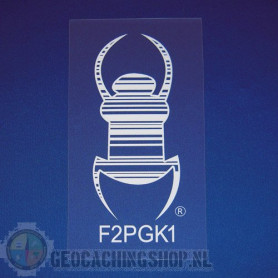 Travel Bug® Aufkleber - selbstklebende Statikfolie 12,5 cm