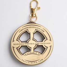 Mariners Astrolabe antique gold