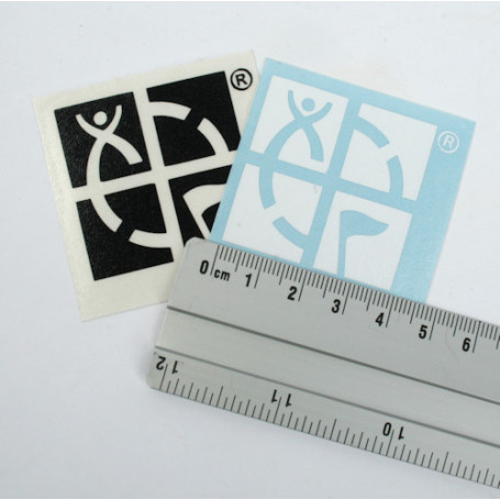 Groundspeak Logo sticker 4 x 4 cm (decal)