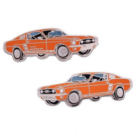 Ford Mustang Geocoin - Orange