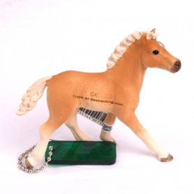 Trackable Animal - horse Haflinger foal