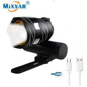 Mixxar T6 LED bike front light