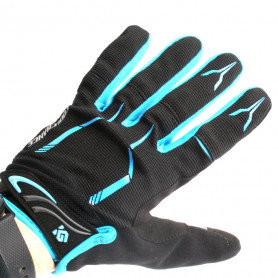 Bike gloves CoolGloves blue touchscreen