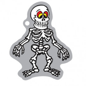 Halloween - Shakes the Skeleton travel tag