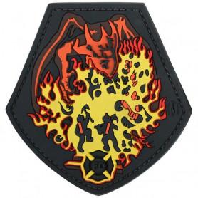 Maxpedition - Badge Fire Dragon - Color