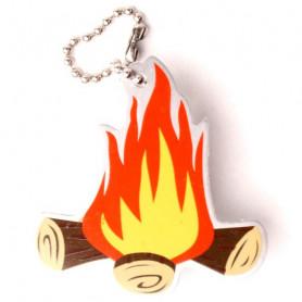 Travel Tag Blaze the campfire