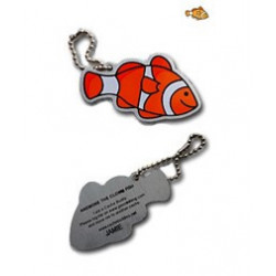 Travel Tag Anemone the clown fish