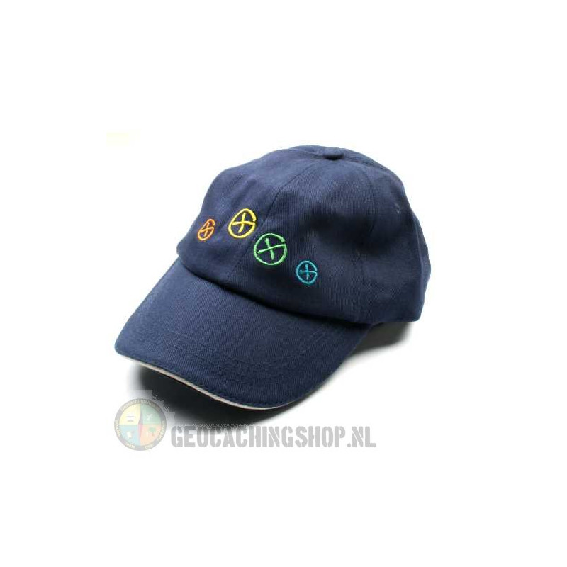Hat, Geocaching, blue