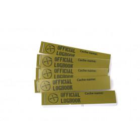 5 x Logboek voor PETling 16x90mm, 200-logs