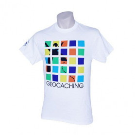 The Original Geocaching T-Shirt- 20th Ann. Ed. Size M