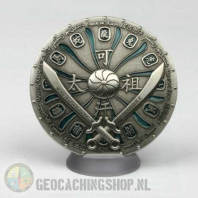 Khan Geocoin - Helan edition (RE)