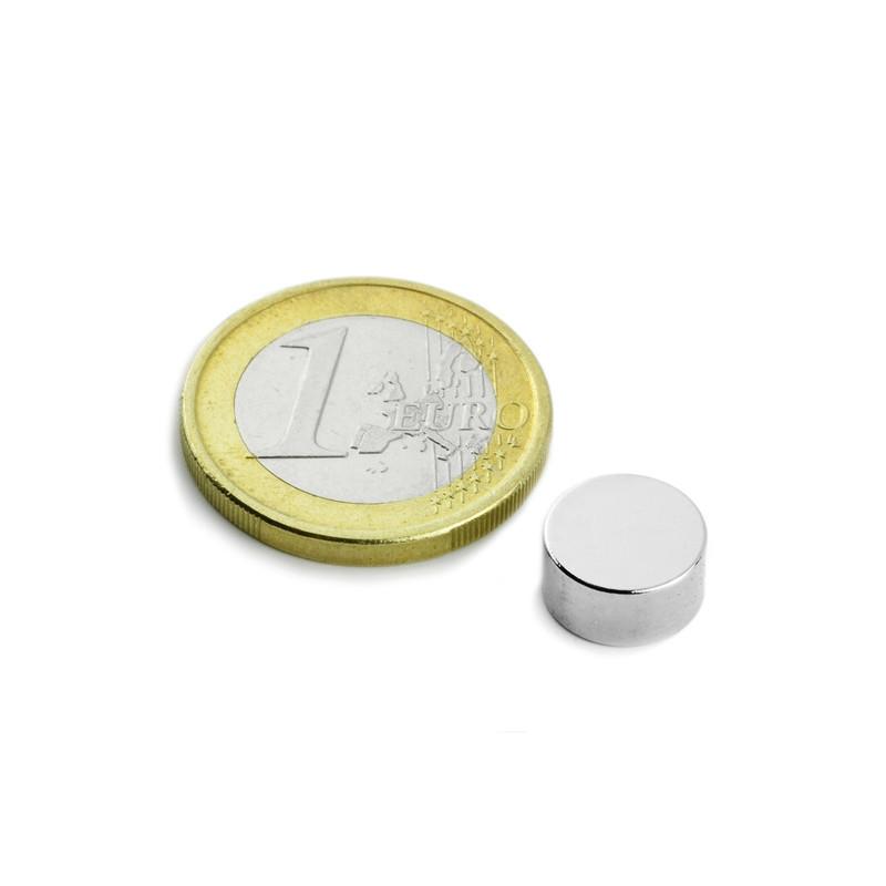 5 stuks 10 mm Rond x 5 mm Neodym Magneten
