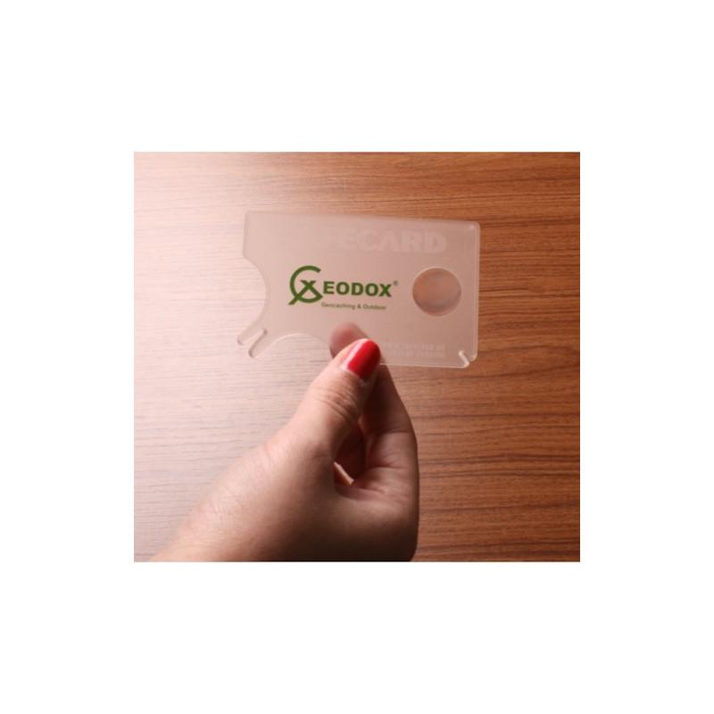 Tekenkaart (SafeCard)