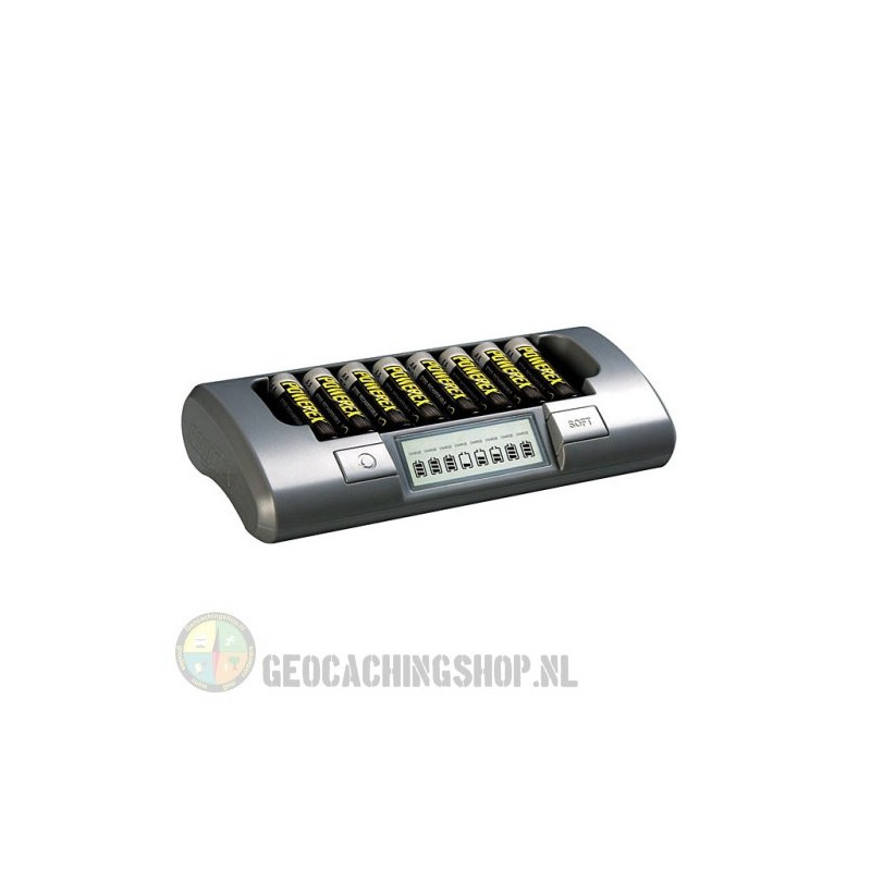 MAHA Powerex MH-C800S Eight Cell Smart Charger