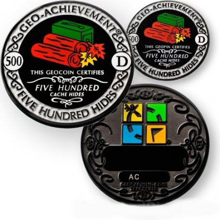 Hides - 500 Hides Geo-Achievement ® set