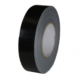 Duct tape - black - 38 mm x 50 m