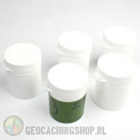 Micro container 105 ml white, 5 pcs