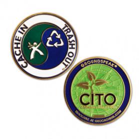 Groundspeak - Classic CITO geocoin