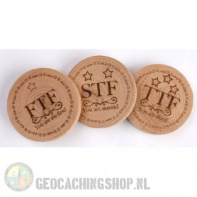 Woodies - FTF, STF, TTF set (3 stuks)