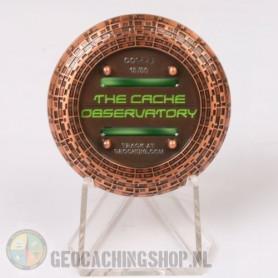 Cache Observatory - antiek koper LE50
