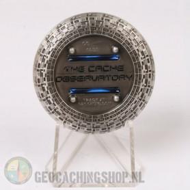 Cache Observatory - antiek zilver RE