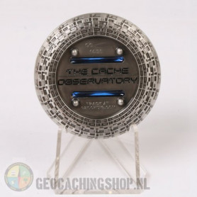 Cache Observatory - antique zilver RE
