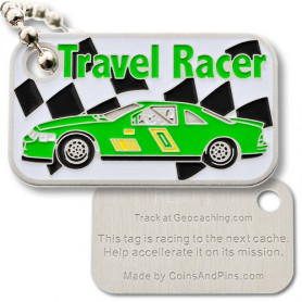 Travel racer groen