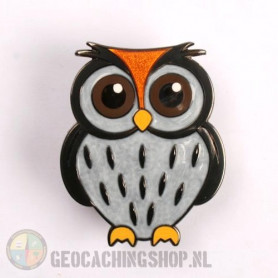 Owl Geocoin - Snowowl