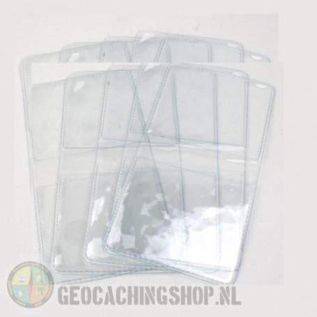 Geocoin hoesjes, 10 stuks