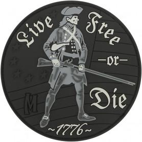 Maxpedition - Badge Live free or Die - Swat