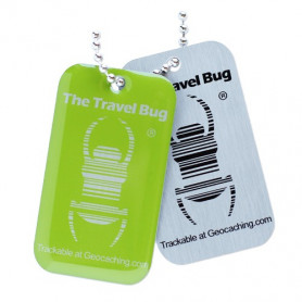 QR Travel Bug® - Green