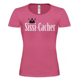 T-shirt - Sissi-Cacher (roze)