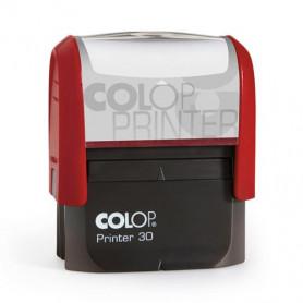Log stamp - Printer - 18x47 mm - Own text/logo