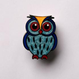 Baby Owl Geocoin - Ocean-owl