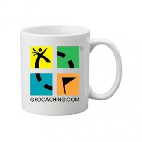 Kaffee + Teebecher: Groundspeak Logo