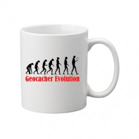 Coffee + tea Mug: Evolution