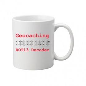 Kaffee + Teebecher: ROT 13 decoder