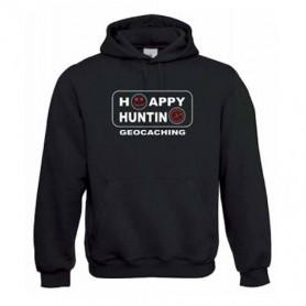 "Hoody ""Happy Hunting"" red"