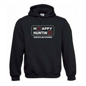 "Hoody ""Happy Hunting"" rot"