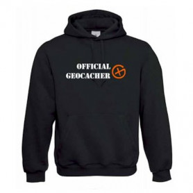 "Hoody ""Official Geocacher"""