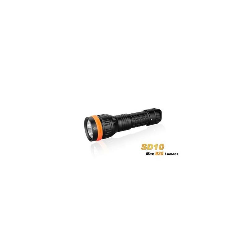 Fenix SD10 LED-duiklamp Cree XM-L2 T6
