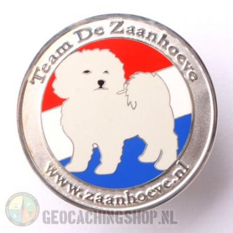 Zaanhoevegeo coin - silver LE