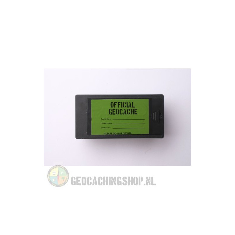 Magnetic rectangular Geocache Container - 10 x 5