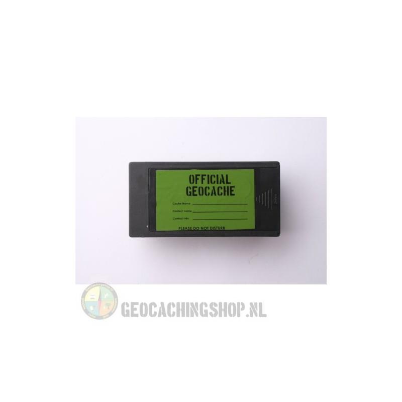 Magnetic rectangular Geocache Container - 10 x 5