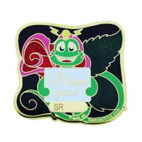 Signal the Frog - Rose Geocoin