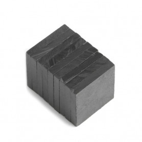 5 pieces Blokmagnet 20 x 20 x 3 mm