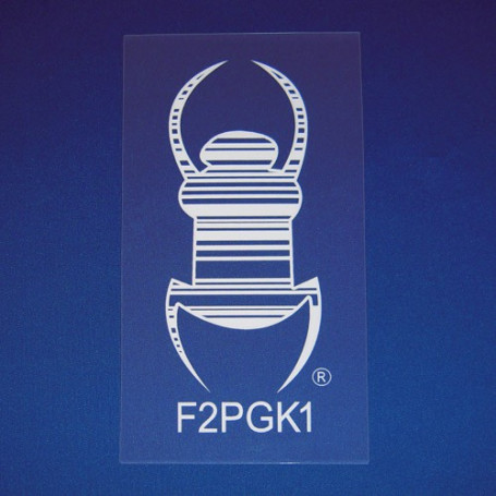 Travel Bug® Aufkleber - selbstklebende Statikfolie 18 cm