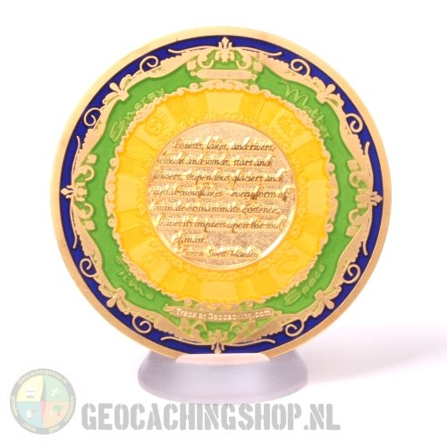 Circle of Four Geocoin