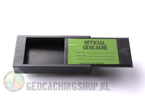 Magnetic Geocache container, rectangle